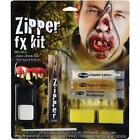 HALLOWEEN ZOMBIE DELUXE ZIPPER CHARACTER MAKE UP KIT WOUND HORROR FACE MAKE UP