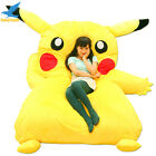 Fancytrader Huge Giant Filled Pikachu Bed Carpet Tatami Mattress Sofa Great Gift