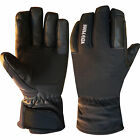 Leather Cycling Gloves Biker Motorcycle Thermal Cold Weather Gloves