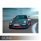 PROSCHE 911 GT3 RS (0714) Car Poster -  Picture Poster Print Art A0 A1 A2 A3 A4