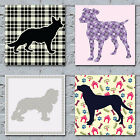 Dog Pattern Art Canvas Prints - The Many Magical Patterns Of The Canine World 2