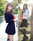 Hot Sexy Japanese Japan School Girl Uniform Cosplay Costume NEW