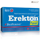 EREKTON FAST - 45 min Before - Food Supplemenet Erection Pills - Sexual Remedy
