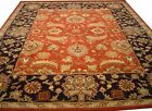 Indian Traditional Hand Tufted Persian Oriental Wool Carpet Rug Alfombras RC EHS