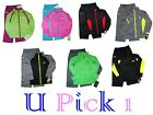 UNDER ARMOUR JACKET PANTS BOYS GIRLS 2 PC TRACK SUIT SET OUTFIT ATHLETIC TRICOT