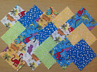 DINOSAURS ~ COTTON FABRIC PATCHWORK SQUARES PIECES CHARM PACK CRAFT 2 4 5 INCH