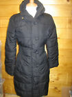 JOULES Langridge Black Quilted Coat Jacket Sz 6 RRP£99 Free UK P&P