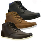 MENS DESERT BOOTS HI TOP ANKLE SKATE PUMPS DESIGNER PLIMSOLLS TRAINERS SHOES NEW
