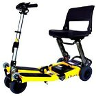 Luggie Folding Compact Portable Mobility Scooter Cart