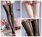 Elegant Lace Vertical Striped Stockings / Thigh-highs / Panty-hose / Tights