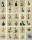 Clip on charm- 30 to choose from- Clip on to bracelets, phone charms etc (B)
