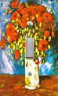 Light Switch Plate Outlet Covers VAN GOGH POPPIES IN VASE