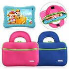 Tablet Sleeve Case Portfolio Handle Carry Bag for 7'' 8 inch Kids Tab Universal