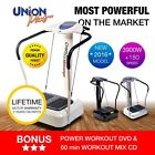 "Crazy Fit Vibration Plate Power Machine Oscillating Fitness ""Three Colours"""