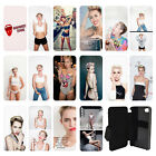 Miley Cyrus Flip Wallet cover case for Apple iPhone No. 30