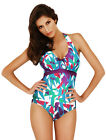 Brand New Panache Natalie SW0660 Turquoise Multi Swimsuit Various Sizes