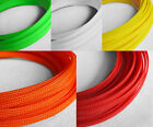 Braided Expandable Cable Loom Auto Harness Wire Sleeving Sheathing 5m ALL COLOUR