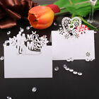 50x Wedding Laser Cut Blank Table Name Number Place Setting Cards Party Favors