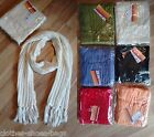 Ladies Girls Womens Scarves Long Knitted Scarf New Free P&P