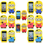 Despicable Me Minion Sillicone Case Cover