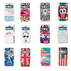 New Colorful PU Leather Flip Wallet Hard Case Cover Skin For iPhone 5C