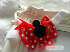 Unique Baby Girls Reborn Red White Spotty Elasticated Headband Made To Order