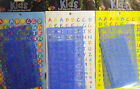 2 x Letters & Number Stencils with over 100 Letter Stickers. Free UK Postage