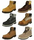 Mens and Ladies Caterpillar Lace Up Ankle Boots Colorado