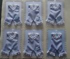 Baby Boy Hand Made Toppers/ Blue Romper Suit for card making and scrapbooking