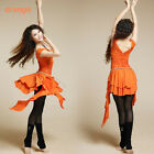 New 2014 Women Belly Dancing Costume 2PICS TOP&SKIRT LACE