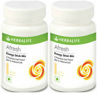2 x Herbalife Afresh Tea Concentrate Energy Drink Mix Ginger Lemon Peach Elaichi