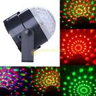 Rotating 3W RGB Crystal Magic Ball Effect Led Stage Lights For KTV Xmas Party