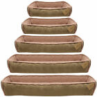THOROUGHBEDS DELUXE SOFT DOG/PUPPY PET BED COSY/FLEECE/WARM CUSHION S/M/L/XL/XXL