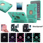 Shockproof Heavy Duty Rubber With Hard Stand Case Cover F Apple iPad Mini 1 2 3
