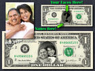 Personalized WEDDING / ANNIVERSARY GIFT Your Face  Name REAL DOLLAR Cash Money