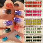 Artificial Nail Stickers Decal Manicure Tips Wraps DIY Decoration Nail Art