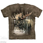 The Mountain Moose Forest Adult Men T-Shirt S-3XL Short Sleeve