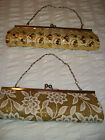 "Handbag CLUTCH BAG 10"" x 4""  with  Detachable Chain/Strap  NEW"