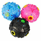 LARGE GIGGLE BALL PET DOG TOUGH TREAT TRAINING CHEW SOUND ACTIVITY TOY SQUEAKY