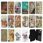 Alice In Wonderland Vintage Flip Case Cover for Apple iPhone - G35