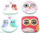 Owl Design Compact Mirror - Make UP Mirror - Travel Mirror - Choice of 4 Designs
