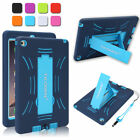 For Apple iPad Air/mini/4 3 2 Armor Shockproof Heavy Duty Rubber Hard Case Cover