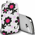 pu leather pull tab pouch case for majority Mobile - mayflower pouch