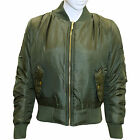 Girls Ladies Bomber Jacket Mother Daughter Parka Zip up Biker Vintage Jackets