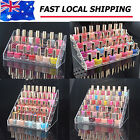 3/4/5/6 Tier Nail Polish Varnish Acrylic Perspex Retail Display Stand Holder NEW