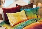 Elegant Rainbow Tree Pillow Shams (Standard/Euro)