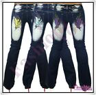 Women's Jeans Tattoo Ladies Bootcut Crazy Age Trousers Size 6,8,10,12,14 UK