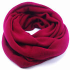 Red Heart Infinity Scarf Light Cozy and Warm Soft to the Skin