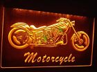 Motorcycle Bike Sales Services Club LED Neon Light 100% Satisfaction Guarantee