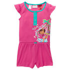 BNWT GIRLS SIZE 4 LICENSED DORA JUMPSUIT ALL-IN-ONE PYJAMAS XMAS GIFT NEW